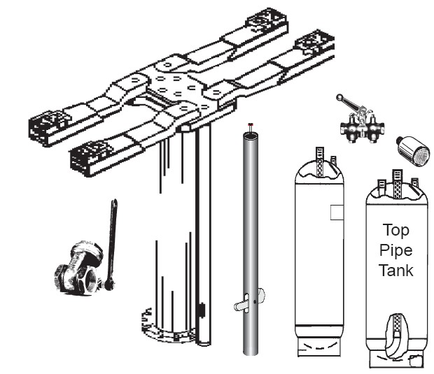 Auto Lift Parts Lift Arms Breakdown For Benwil And Bishamon 2 Post Lifts additionally Car Lift Cylinder Diagrams likewise 1920339 Chigo 2 Ton Ac Spilit Type together with Globe 2 Post Lifts further Rotary Lift Parts Prices. on 2 post rotary lift parts